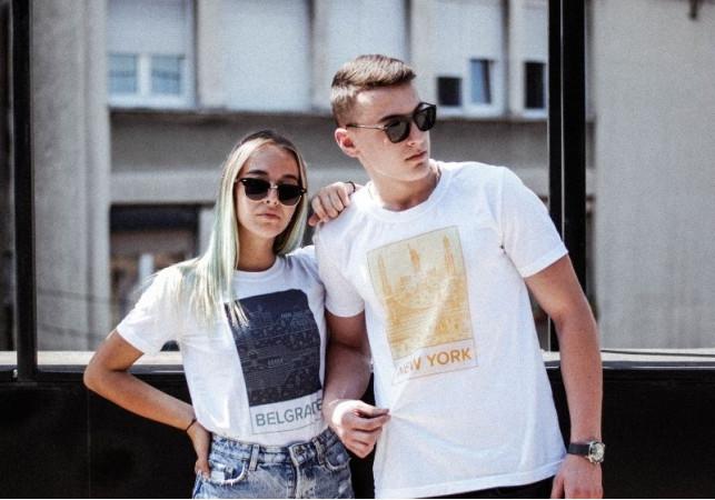 Originalne majice, eco-friendly pakovanje, Beograd u fokusu