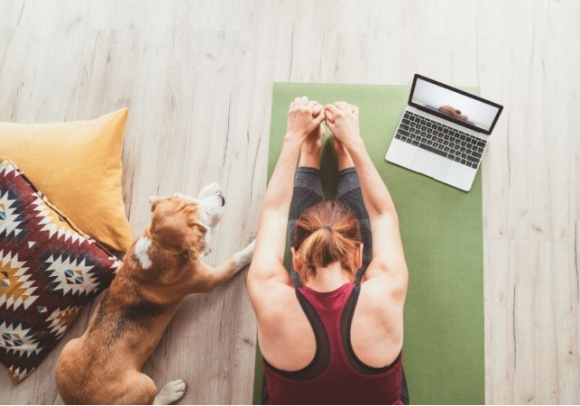 Mir je uvek dostupan: Online joga