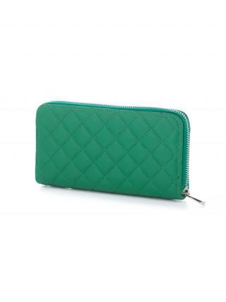 DAVID JONES Zeleni veliki štepani novčanik