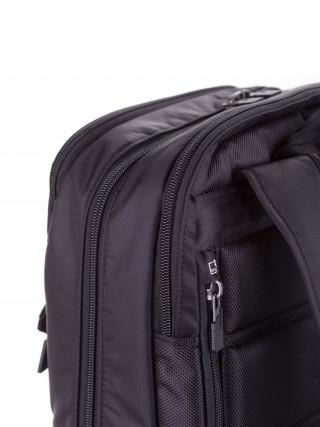 HEDGREN Explicit Crna poslovna tašna sa tri načina nošenja