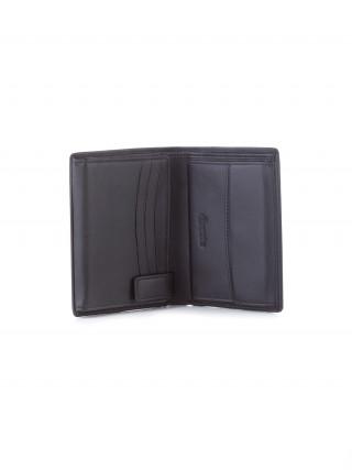 ESQUIRE Crni muški kožni novčanik