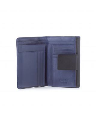 ESQUIRE Crnoplavi kožni novčanik sa RFID zaštitom