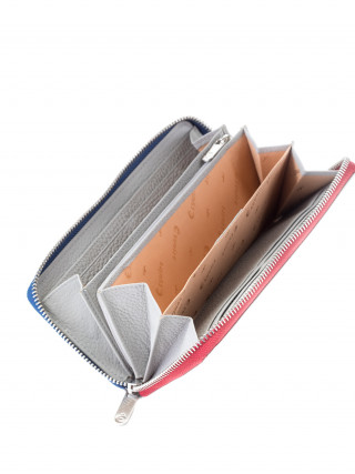 ESQUIRE Sivi kožni novčanik sa RFID zaštitom