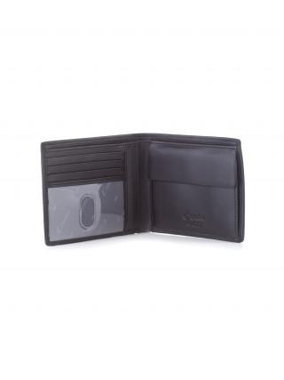 ESQUIRE Crni muški kožni novčanik sa RFID zaštitom