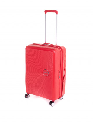 AMERICAN TOURISTER Soundbox Crveni srednji kofer