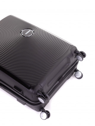 AMERICAN TOURISTER Soundbox Crni srednji kofer