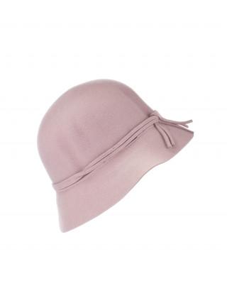 SEEBERGER Bež šešir sa mašnicom