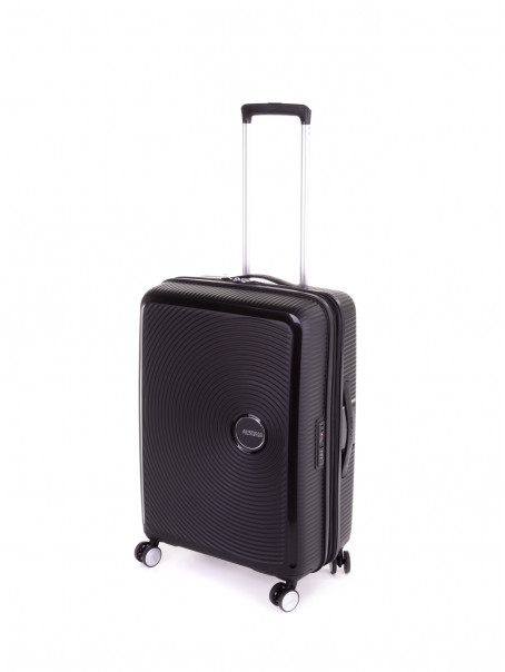 AMERICAN TOURISTER Soundbox Crni srednji kofer