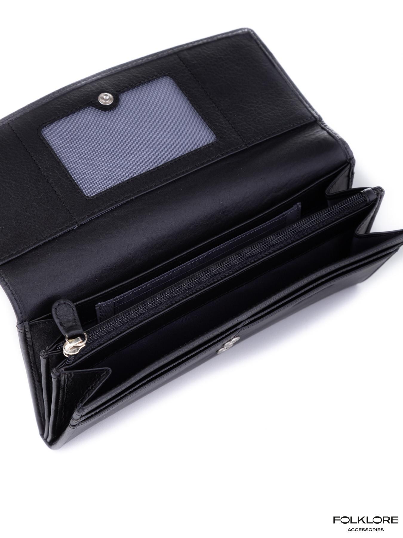 ESQUIRE Kožni crni novčanik
