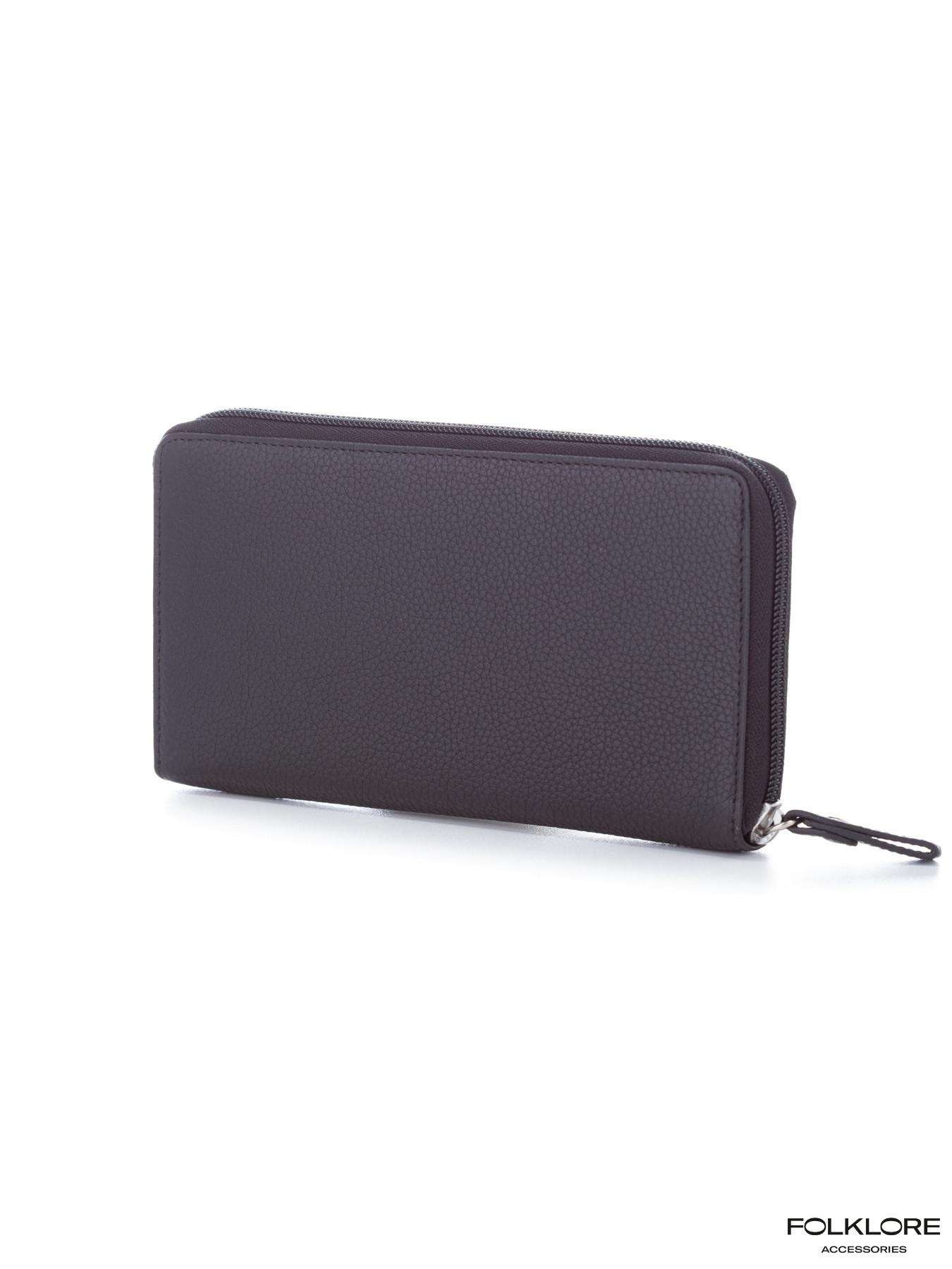 ESQUIRE Crni veliki kožni novčanik sa rajsferšlusom