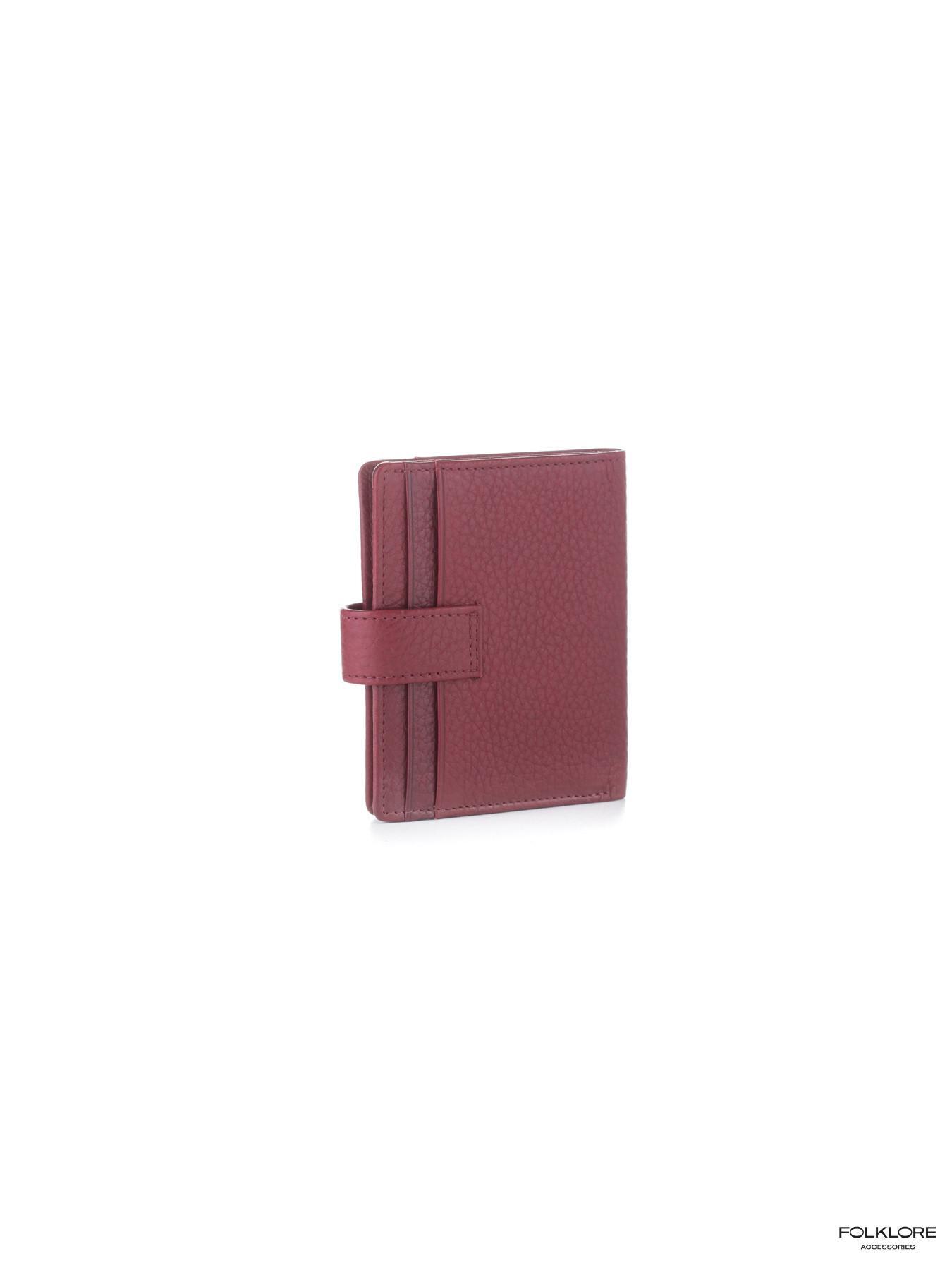 ESQUIRE Crveni kožni novčanik sa RFID zaštitom