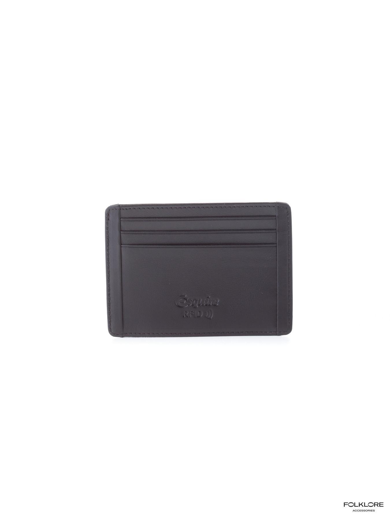 ESQUIRE Kožna futrola za kartice sa RFID zaštitom