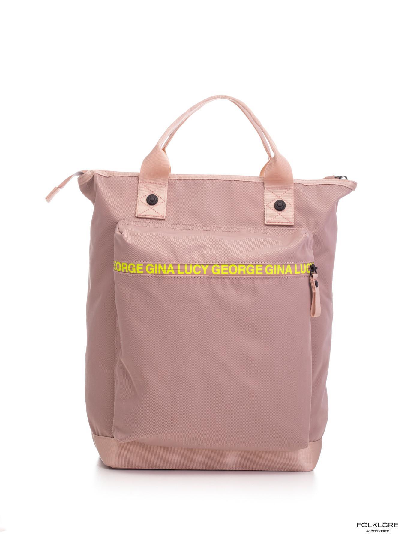 GEORGE GINA & LUCY Roze ranac - tašna