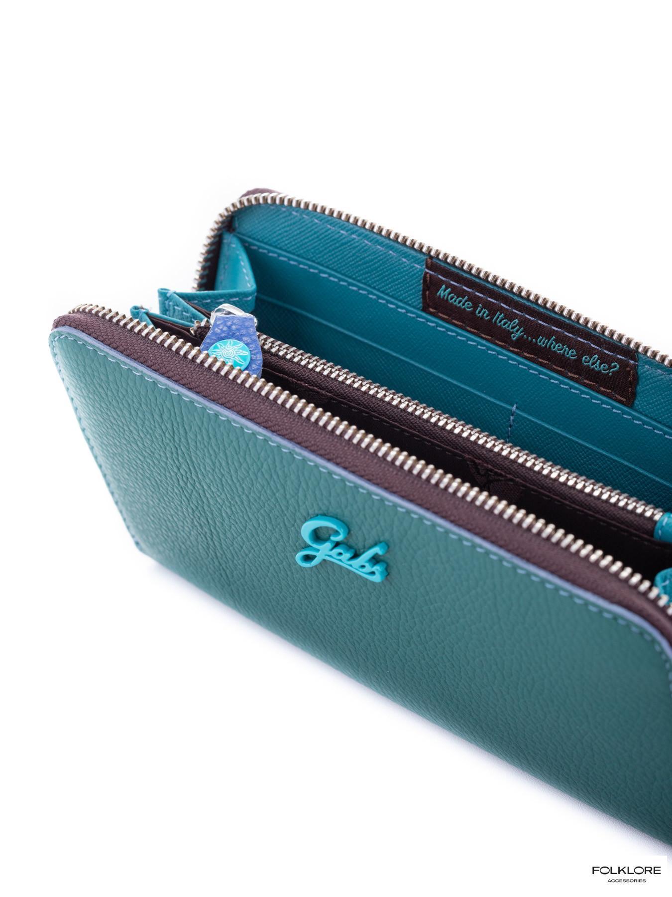 GABS Zeleni kožni novčanik