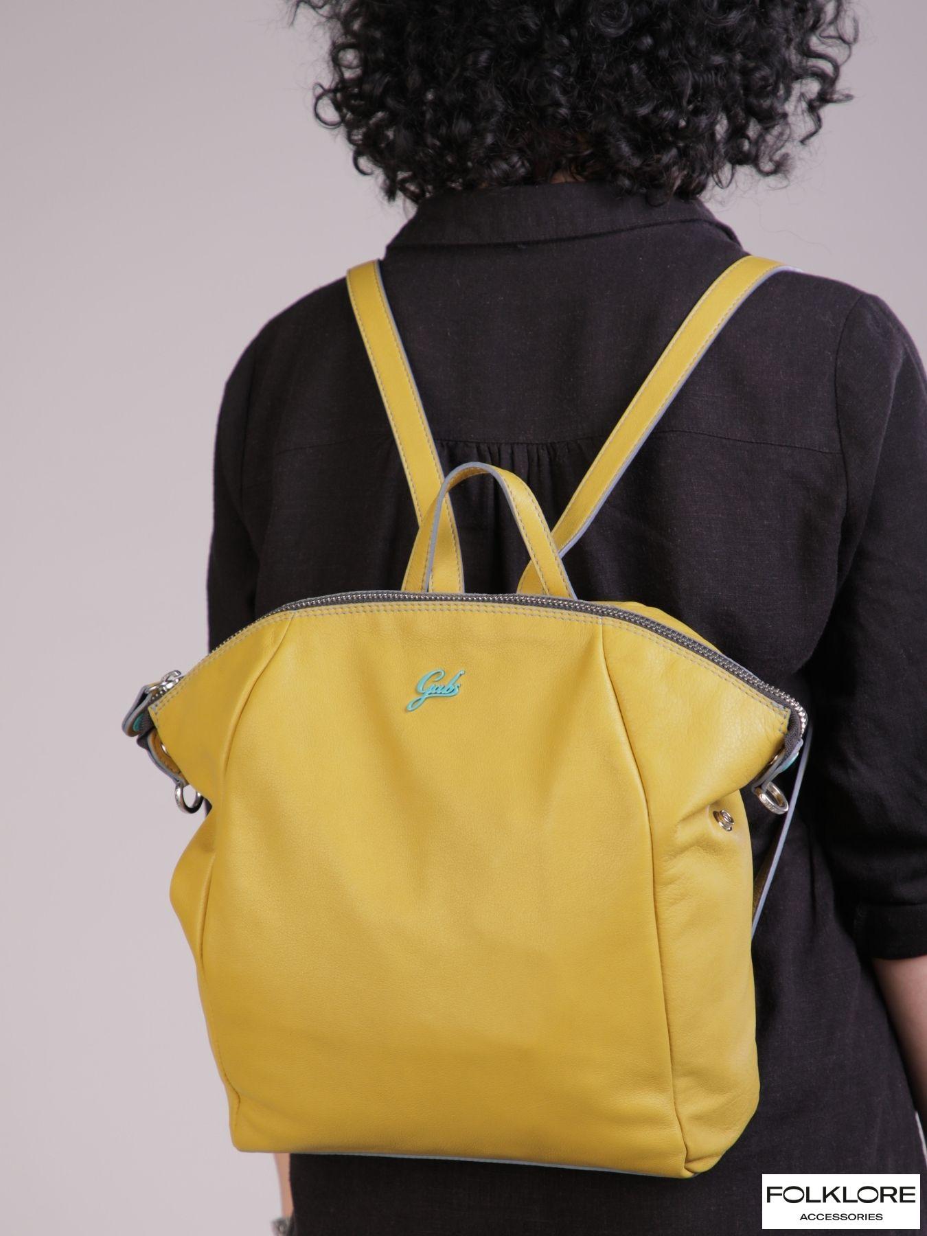 GABS Nike Kožni žuti ranac