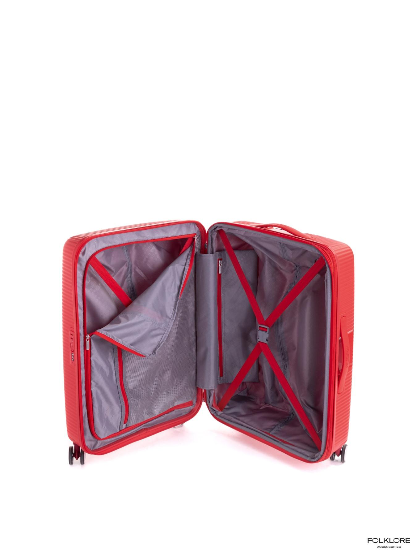 AMERICAN TOURISTER Soundbox Crveni srednji kofer