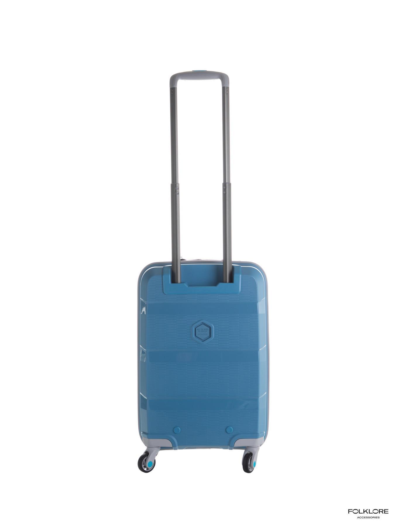 BG BERLIN Zip2 Plavi mali kofer