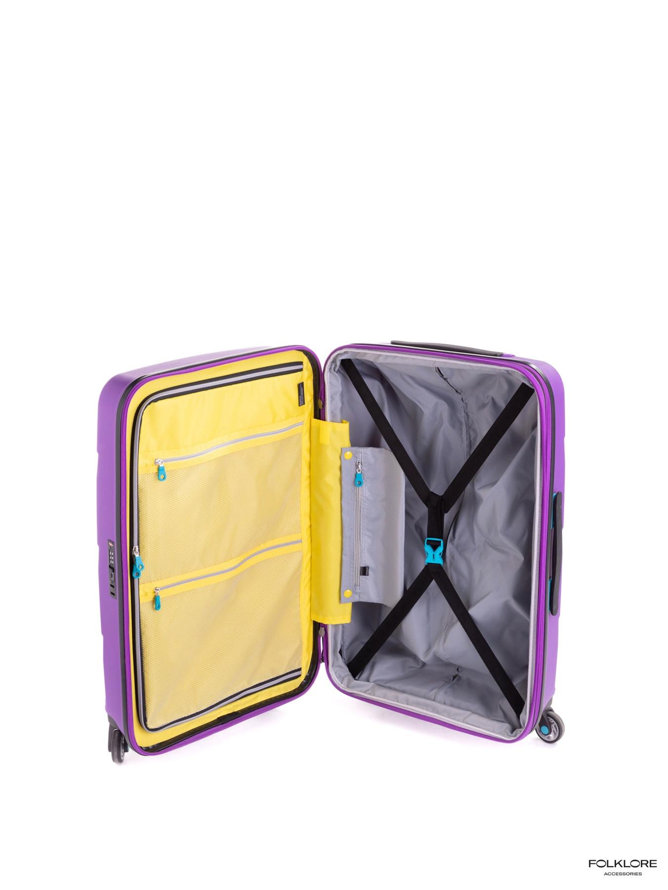 BG BERLIN Zip2 Ljubičasti srednji kofer